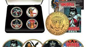 Vampirella Sideshow Coins